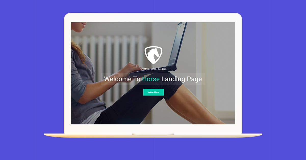 Download Horse App - Unbounce Landing Page by ExplicitConcepts