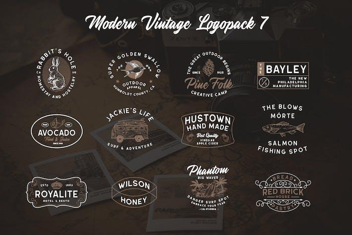 Thumbnail for Modern Vintage Logopack 07