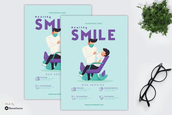 Healthy Smile - Flyer GR