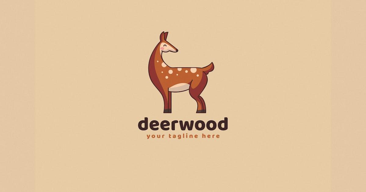 Hand-Drawn Deer Logo Template by EightonesixStudios