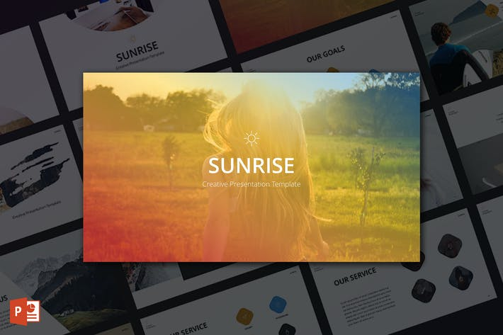 Thumbnail for Sunrise PowerPoint Template