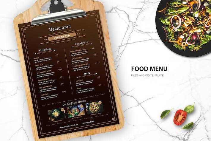 Thumbnail for Food Menu Restaurant