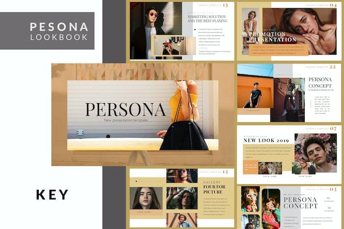 Thumbnail for Pesona Lookbook Keynote Template