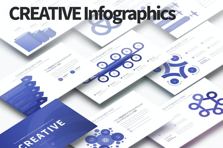 Thumbnail for CREATIVE - PowerPoint Infographics Slides