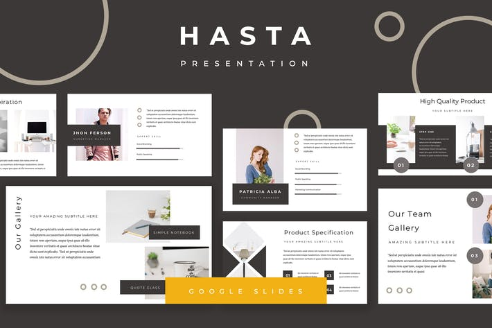 Thumbnail for Hasta Google Slides Presentation