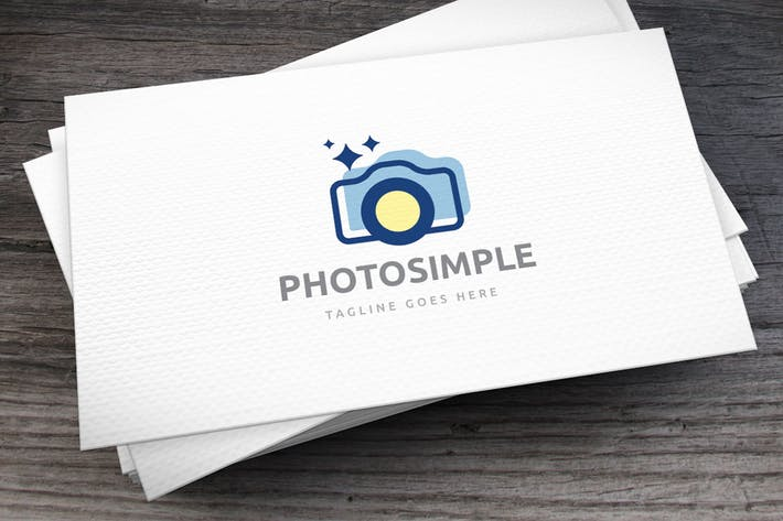 Thumbnail for Photo Simple Logo Template