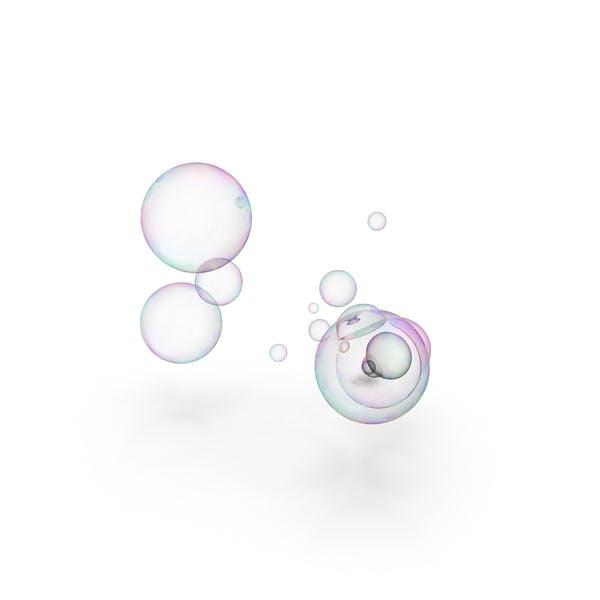 Красочные мыльные пузыри