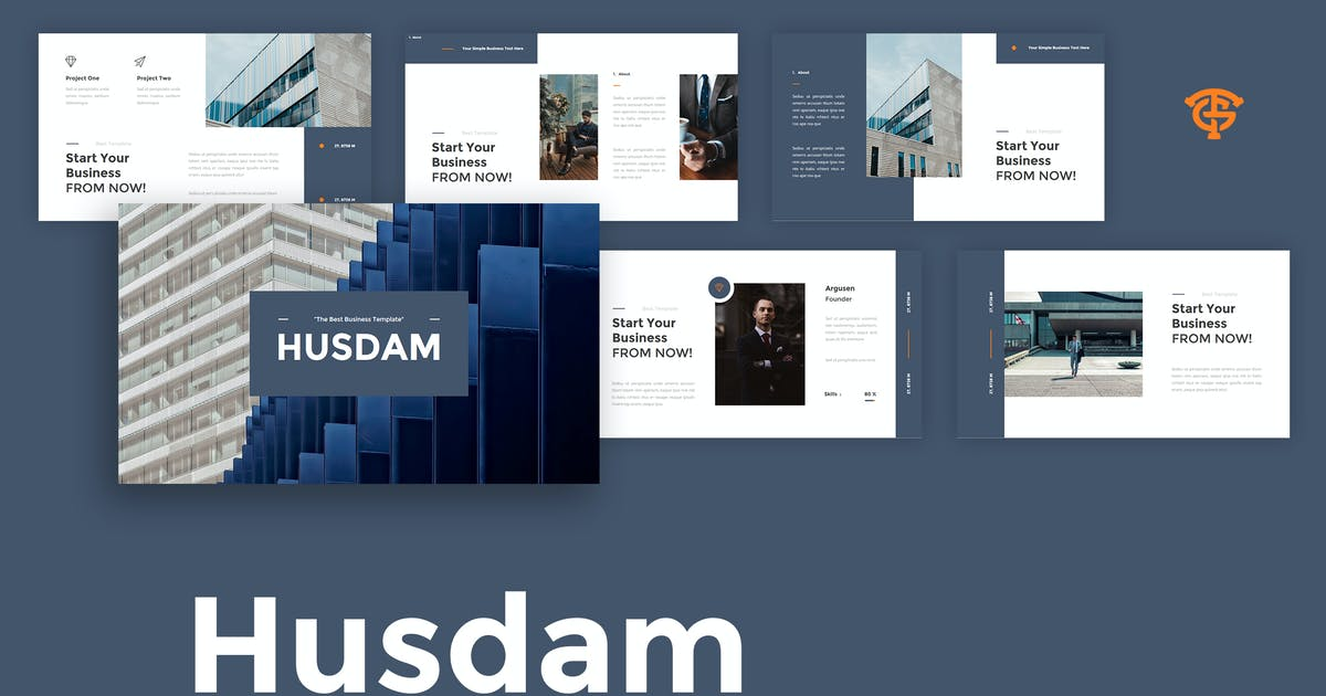 Download Husdam Business - Keynote by graptailtype
