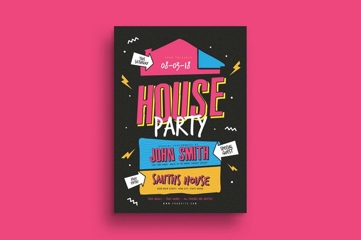 Thumbnail for House Party Flyer