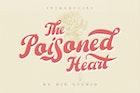 The Poisoned Heart - Retro Vintage Font
