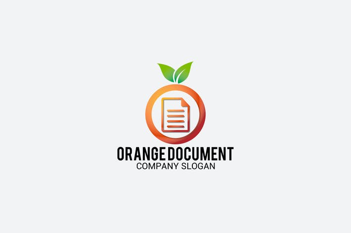 Thumbnail for orange document