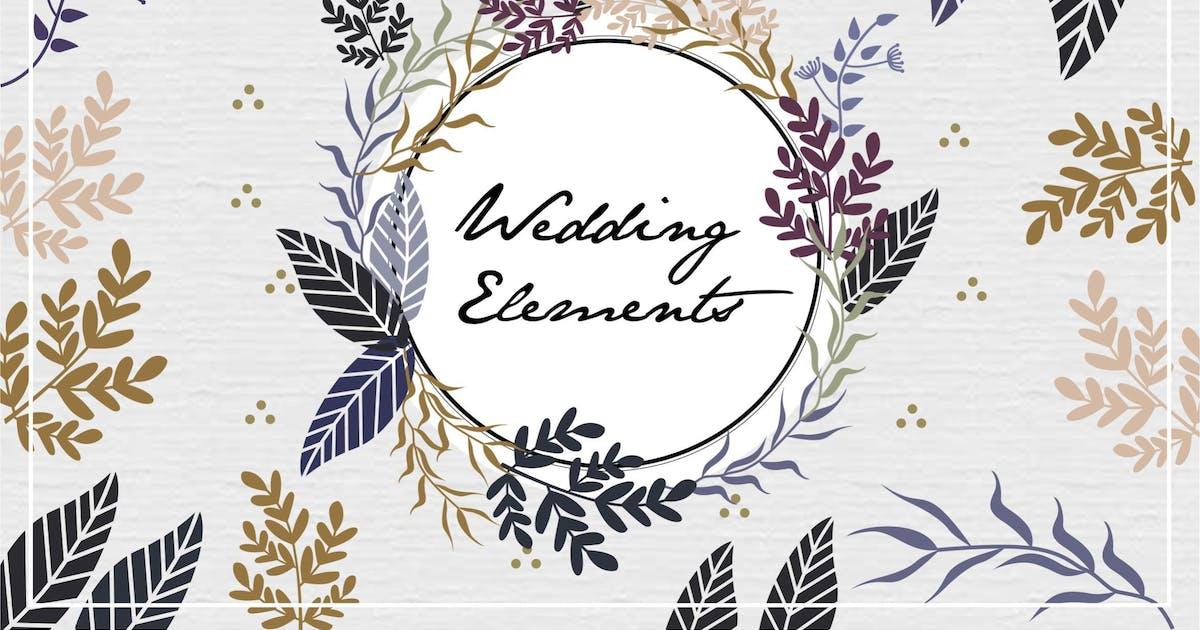 Download Wedding Elements Vector by Heyapriliaa