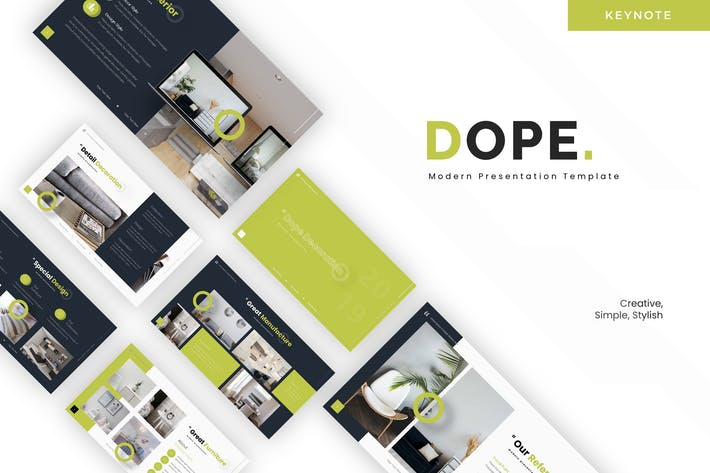 Cover Image For Dope - Keynote Template