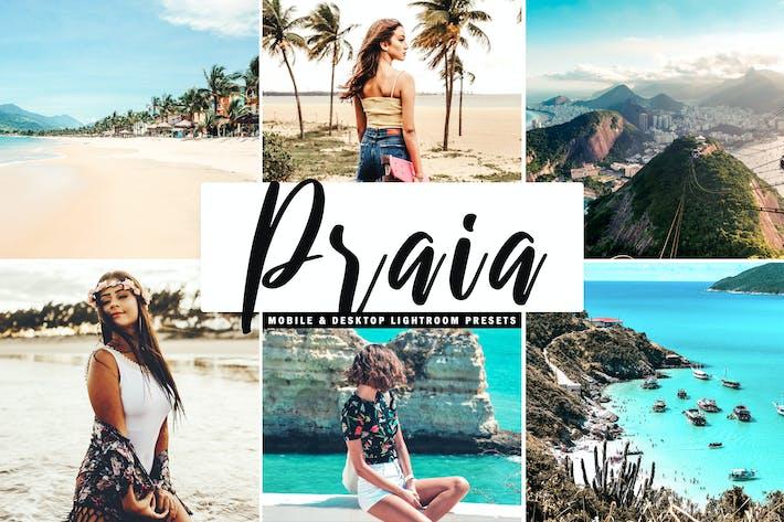 Thumbnail for Praia - Ajustes preestablecidos para salas de iluminación para móviles y de escritorio