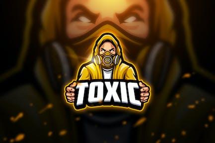 Toxic 2 - Mascot & Esport Logo
