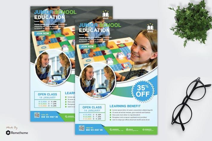 Thumbnail for Muggi -  Junior Education Flyer HR