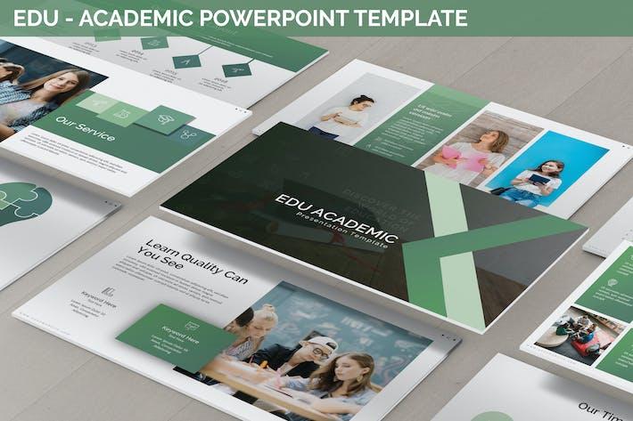 Thumbnail for Edu - Academic Powerpoint Template