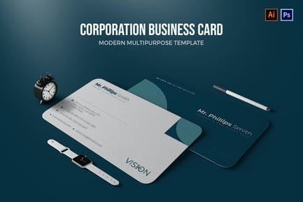 Corporation - Business Card