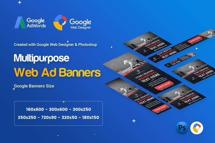 Thumbnail for Multi Purpose, Business Banner Ad - GWD & PSD