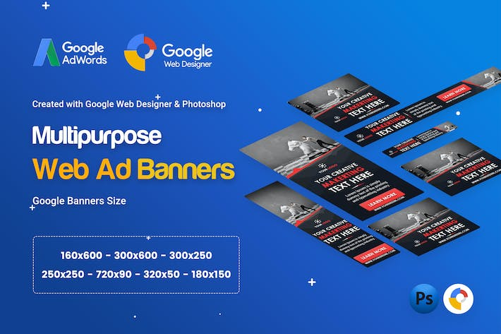 Download the latest website templates envato elements thumbnail for multi purpose business banner ad gwd psd colourmoves
