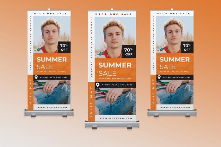 Thumbnail for Fashion Roll Banner Promotion