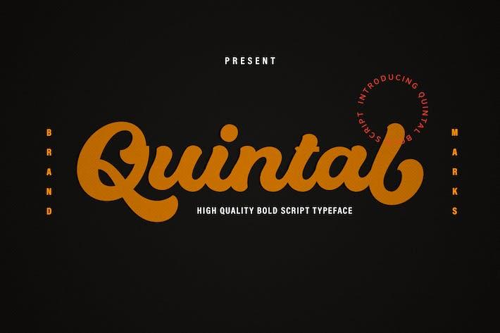 Thumbnail for Quintal Script Bold