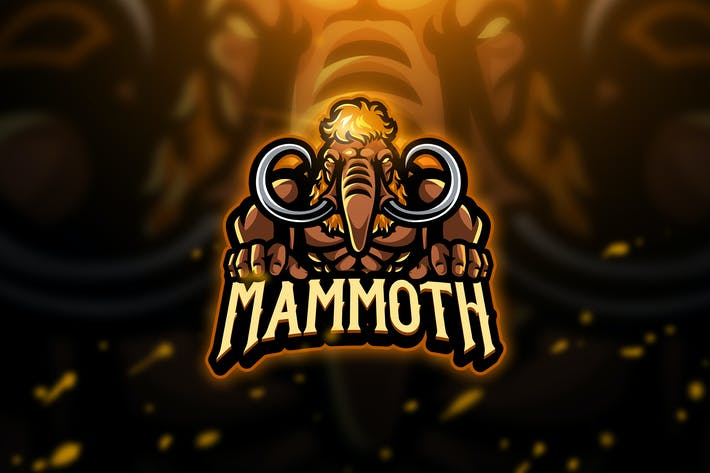 Thumbnail for Mammoth 2 - Mascot & Esport Logo
