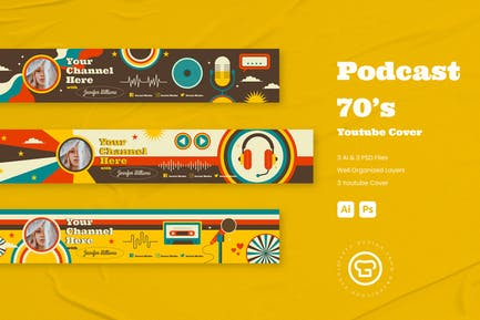 Podcast 70s Youtube Cover