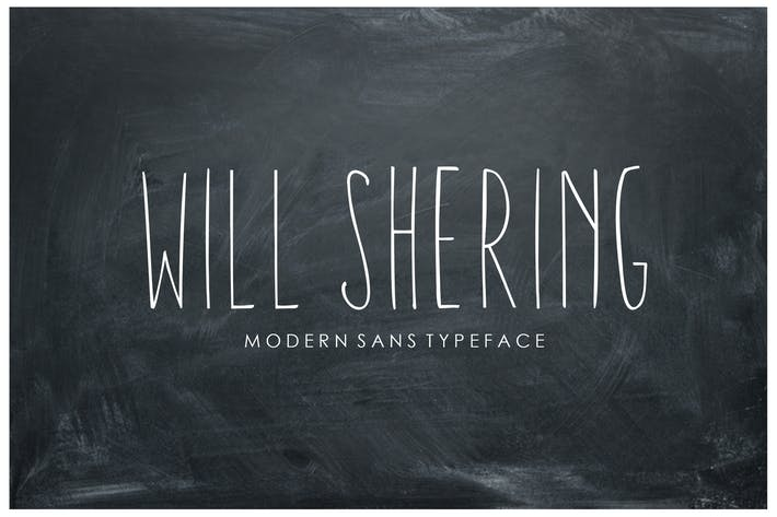 Cover Image For Willshering Sans