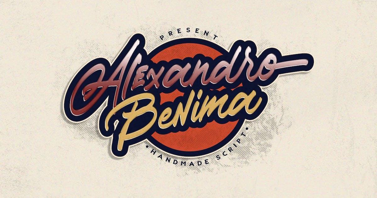 Download Alexandro Benima by Typica_Studio