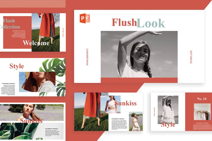 Thumbnail for Flush Powerpoint Template