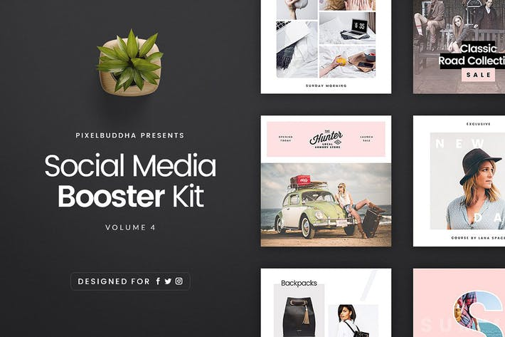 Thumbnail for Social Media Booster Kit 4