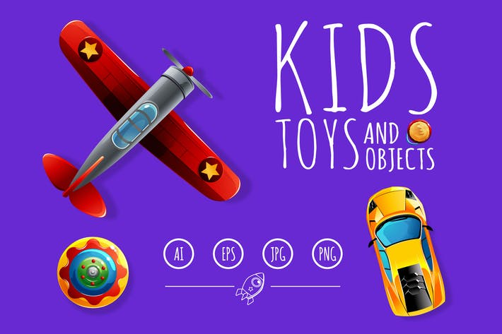 Thumbnail for Kids Toys and Objects