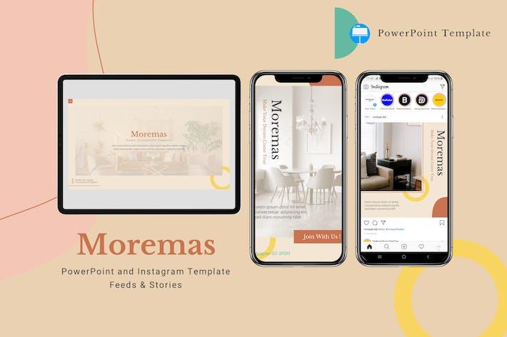 Thumbnail for Moremas - Keynote ка & Instagram Шаблон
