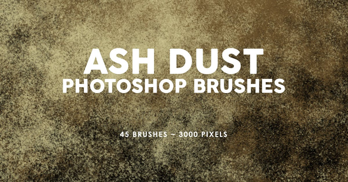 Download 45 Ash Dust Photoshop Stamp Brushes by M-e-f