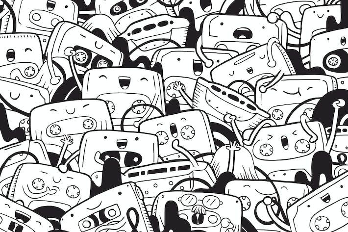 Thumbnail for Cassette Doodle
