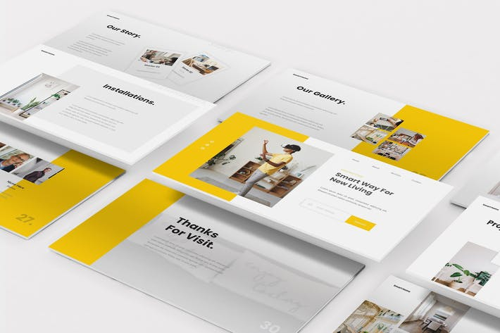 Thumbnail for Smart Home Powerpoint Template