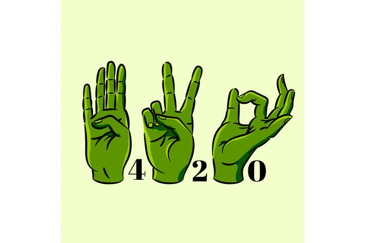 Thumbnail for 420 Hand Symbols