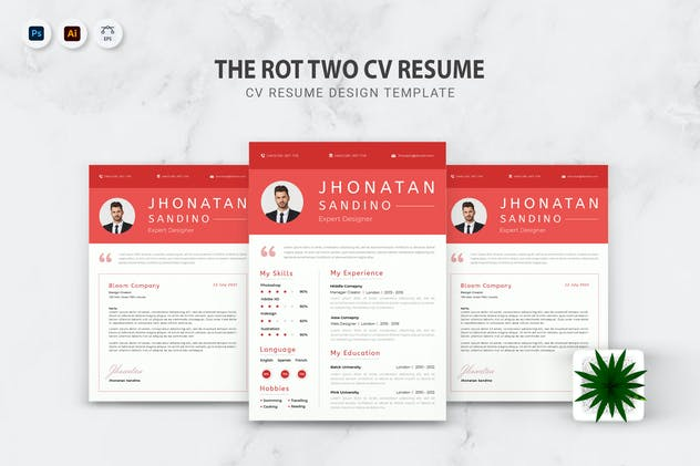 Rot Two CV Resume