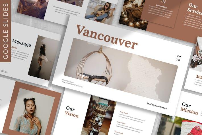 Thumbnail for Vancouver - Plantilla de diapositivas de Google Lookbook