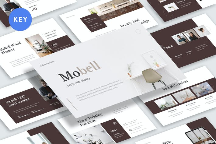 Thumbnail for Mobell Keynote Template