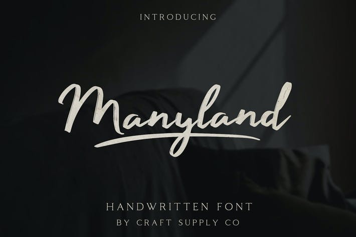 Thumbnail for Manyland - Fuente manuscrita