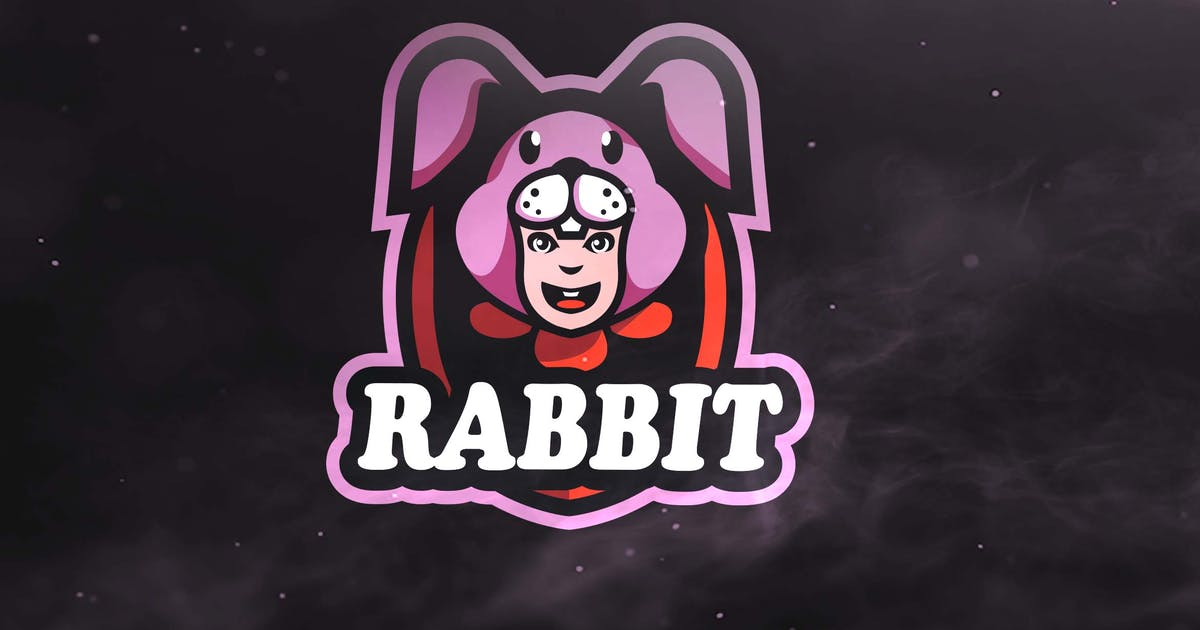 Download Rabbit Sport and Esport Logos by ovozdigital