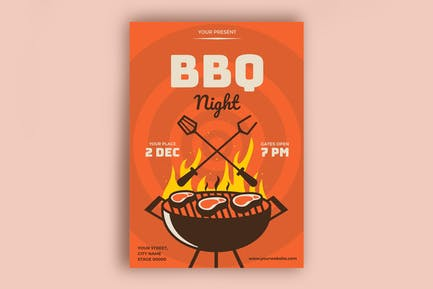 Grill-Poster