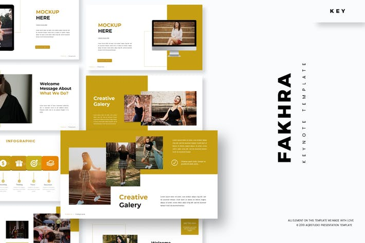 Cover Image For Fakhra - Keynote Template