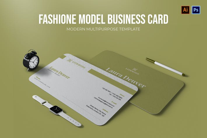 Thumbnail for Fashione Modell - Visitenkarte