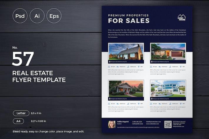 Thumbnail for Real Estate Flyer 57 - Slidewerk