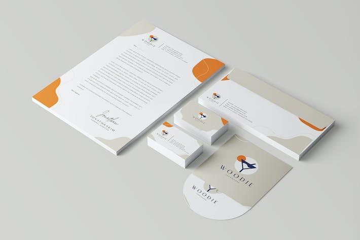 Minimal Branding Identity & Stationery Pack