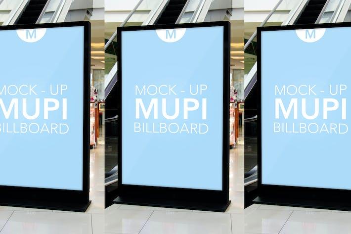 Thumbnail for Mock Up Mupi Billboard