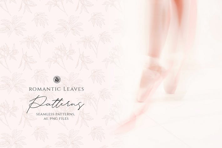 Thumbnail for Romantic Leaves Patterns